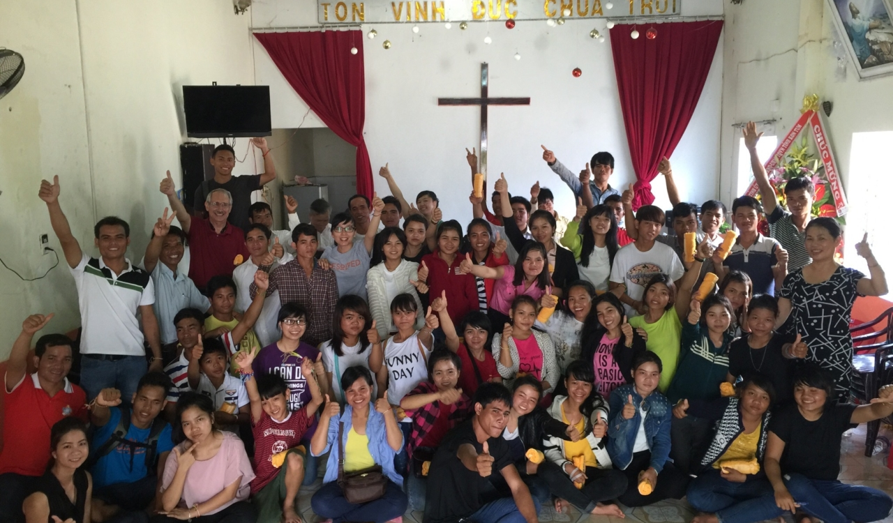 Discipleship training for Montagnard youth in Vietnam